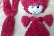 cabello muñecas