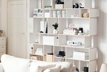 Tylko Bookcases / Bespoke wooden bookcases from Tylko that can be easily customized down to the last detail and dimension to fit your space perfectly.