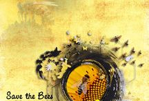 Save the Honey Bee by PerlineDesign