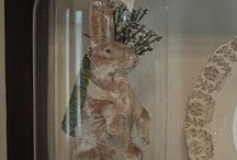 Easter Display Ideas / Quick, fun and easy ways to get your home into the spirit of Spring and the Easter season!