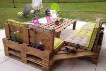 DIY outside-pallets