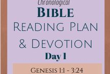 Once a Day Bible Reading Plan & Devotions / Once a Day Bible Reading Plan & Devotions. Daily Bible Reading Plan with an original devotion each day based on the Once a Day Chronological Bible. This daily reading plan can be used with any Bible and is based on DAY not DATE so you can start at any time of year and NOT feel guilty if you miss a day (or more!).