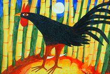 Ellegua / Orisha of the gateways- Legba, Coyote, Raven, Trickster, Gede. / by Rebekah  Wrye Owens