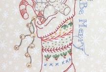 Christmas embriodery
