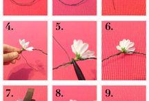 květiny-drátek