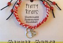 Pretty Knots Bracelets / Buy from Etsy