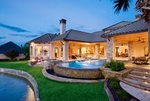 Exteriors - Sterling Custom Homes / Custom home exteriors - Austin, TX