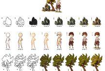pxl.tutorials / Pixelart tutorials