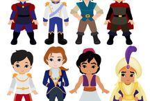 princesas y caballeros