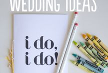 Quirky & Fun Wedding Ideas / Quirky, fun and imaginative ideas for your wedding