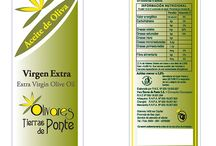 etiquetas de aceite