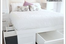 Bed-frames and headboards