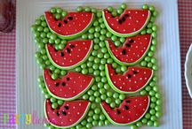 watermelon party ideas / Watermelon birthday party and baby shower ideas.
