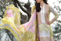 Gohar Embroidered Lawn Suits Collection