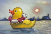 Children and Toys - Original Paintings on Etsy
