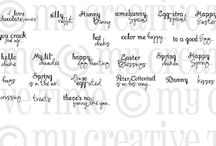 Color Me Happy / Inspiration for this stamp set!