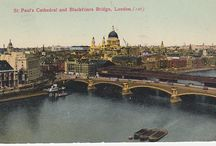 London Postcards - Thames and Bridges