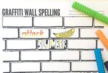 Spelling area