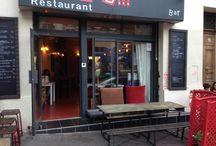 La boulangerie mobilier terrasse / Conception et fabrication de la terrasse du restaurant le Plan B.  56 Cours Julien à Marseille.  Une adresse que nous vous invitons à découvrir! Bon accueil, bons mets, bons vins bref: bon PLAN!