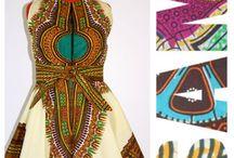 Dashiki and Ankara dresses