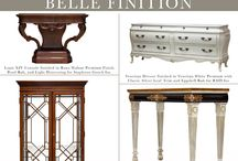 """Belle Finition / Belle Finition, or """"Beautiful Finish"""" is our monthly presentation of products that have recently come through the factory. Check here monthly to see what's new with Karges!"""