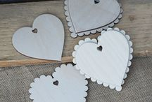 Wooden Craft Shapes / Beautiful shapes for craft projects, card embellishments and scrapbooking. Designed and made by Artcuts in the UK.