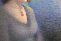 Z Pastel,pencil ženy