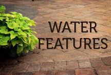 Water Features / Whether it's a bubbling rock fountain, waterfall or pond, there are plenty of ways to feature H2O in your landscapes.