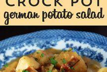 Potatoes meals
