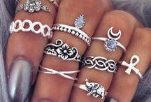 мезенди и кольца