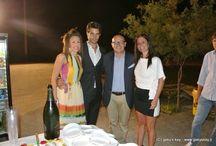sfilata sotto le stelle La Palafitta 2014 / la nostra sfilata al ristorante  La Palafitta 2014