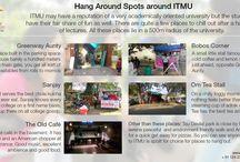 Hang around spot around ITMU,Gurgaon