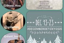 #DecemberDetoxYogis #siluetyogawear