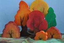 Jahreszeitentisch Herbst