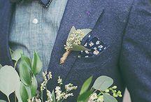 Inspirations Mariage / Pensez à l'Atelier Barnabé pour votre Mariage : Noeuds papillons en bois, broches, barrettes, boutons de manchettes
