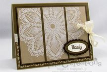 Cards (Doily Stamp) / by Karleen Miller Kettleson