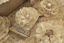 Квіти з тканини