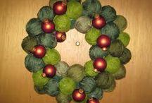 Fabric & yarn decorations