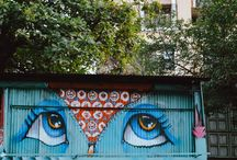 Graffiti Trail in Mumbai / This feature is a part of the graffiti trail that converts our city into an artistic landscape