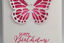 su butterfly card / by Lavinia Dow