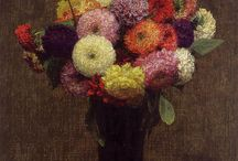 Henri Fantin-Latour / Henri Fantin-Latour was a French painter and lithographer best known for his flower paintings and group portraits of Parisian artists and writers.  Born: January 14, 1836, Grenoble, France Died: August 25, 1904, Buré, France