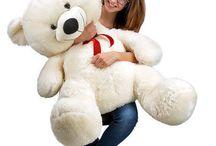 Big Teddy Bear Christmas Gift White Giant Extra Large Huge Plush Cuddly Polar XL