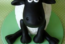 Cake for Shaun the sheep