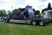 Trucks, heavy equipment