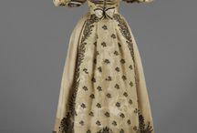 1820s wedding dresses