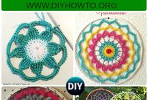 Crochet Dream Catchers