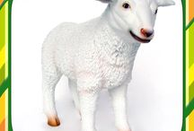 Sheep, Lambs, and Goat Displays / Realistic looking sheep, lamb and goat statues, props and displays are built and handcrafted with the most durable resin or fiberglass resulting in high-quality products. Each one of these animals are very detailed and life like, with a little cuteness added to these barn yard animals. These animals offer great decor for even/party planners, props for movies/commercials and photography, eating establishments, business, office, home, gift giving, just to name a few. Take a look around, buy today!