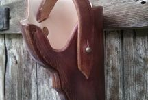 Hand-made holster. / Hand-made holster on order