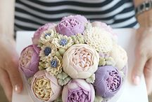Buttercream flower : Cold color