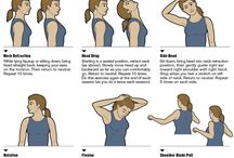 Neck Pain, Headaches, Stretches / Stop Neck Pain Fast! Exercises address the root cause of many neck problems- poor upper-body posture. In a study, more than 3/4 of participants who completed a 12-week exercise regimen experienced at least 50% drop in pain; following up 1 yr later, researchers found that 37% had a complete reduction in pain, compared with 27% of those who'd had chiropractic treatment and 17% of those who had been given over-the-counter and prescription anti-inflammatory and painkilling drugs.